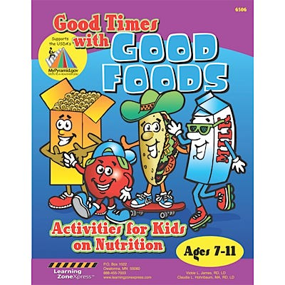 Good Times with Good Foods Activity Books, Set of 12