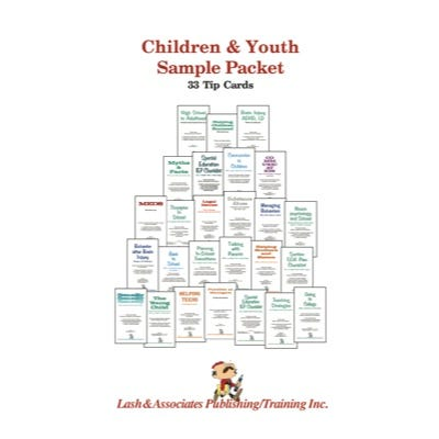Children and Youth Sample Packet of Tip Cards 34/Pkg