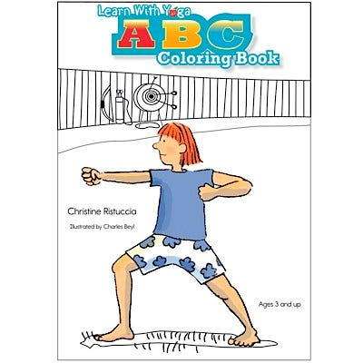 Learn with Yoga: ABC Coloring Book
