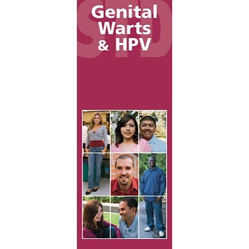 Genital Warts and HPV Educational Pamphlets