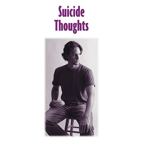 Suicide Thoughts Educational Pamphlets