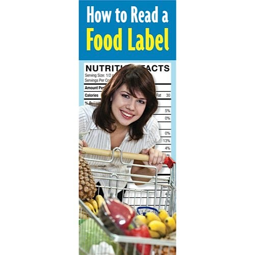How to Read a Food Label Educational Pamphlets