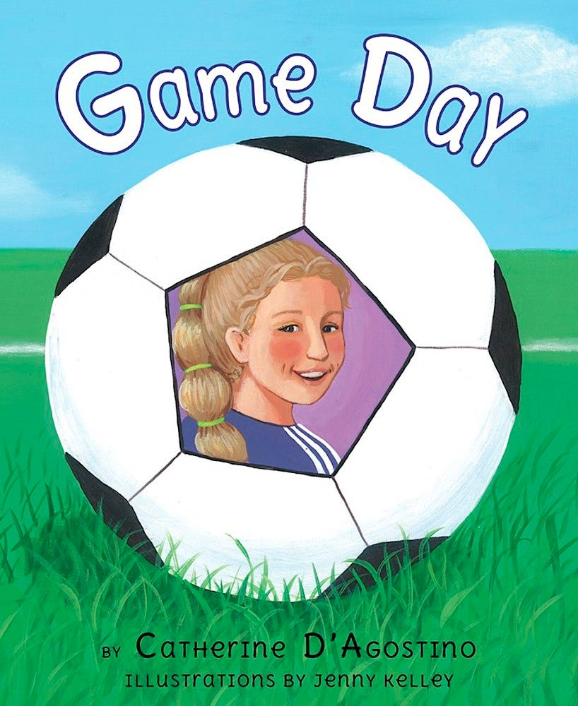 Game Day - A Kids Book about Diabetes, 16 pages