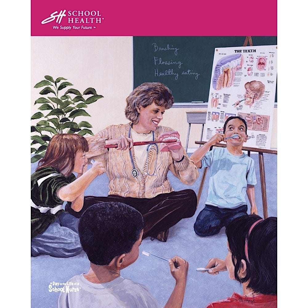 1999 School Health Catalog Cover Poster Series