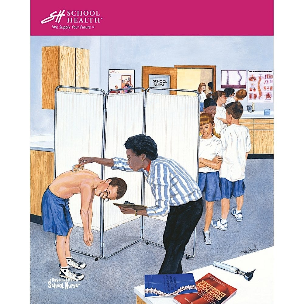 2002 School Health Catalog Cover Poster Series