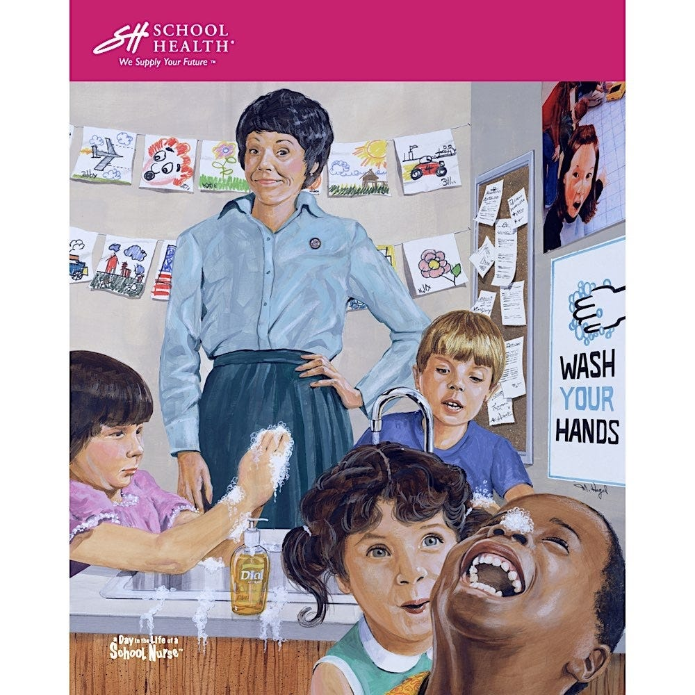 2003 School Health Catalog Cover Poster Series