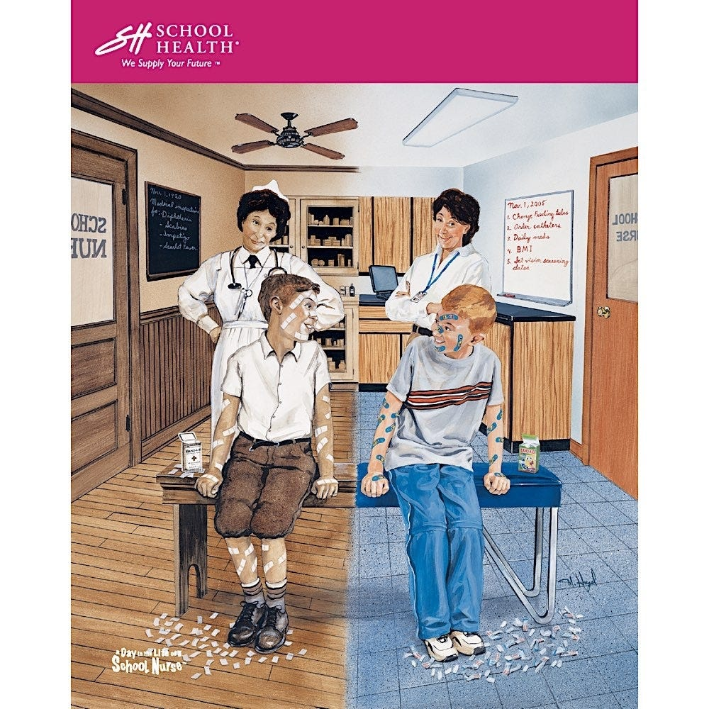 2005 School Health Catalog Cover Poster Series