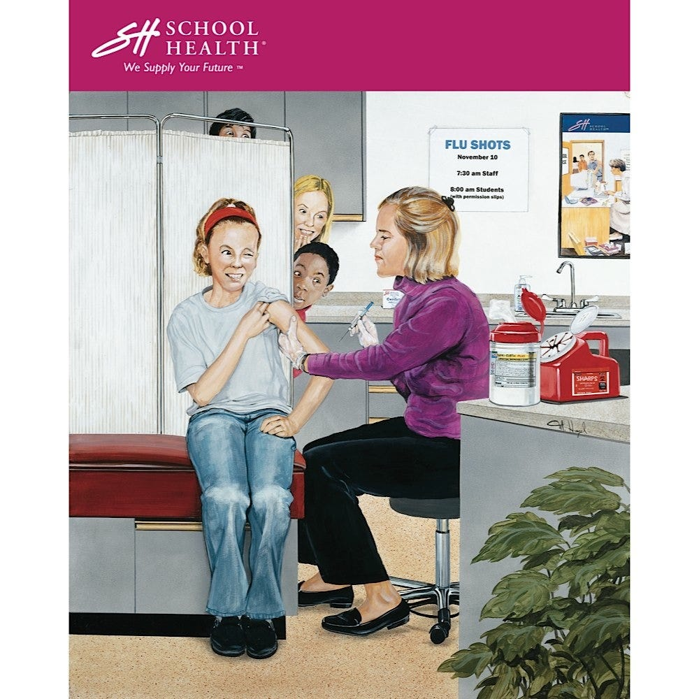 2006 School Health Catalog Cover Poster Series