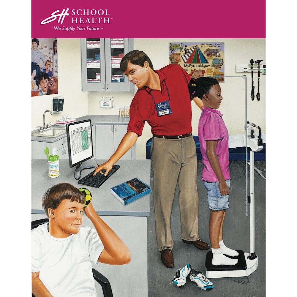2007 School Health Catalog Cover Poster Series