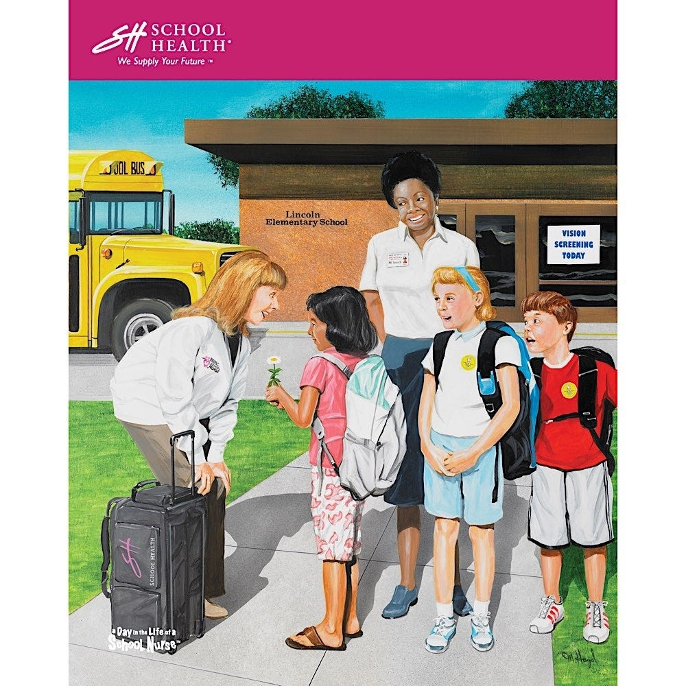 2008 School Health Catalog Cover Poster Series