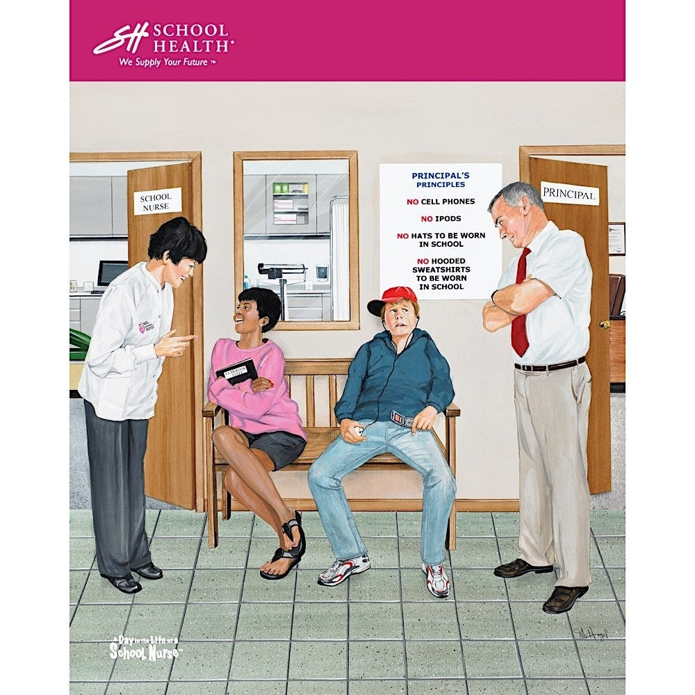 2009 School Health Catalog Cover Poster Series