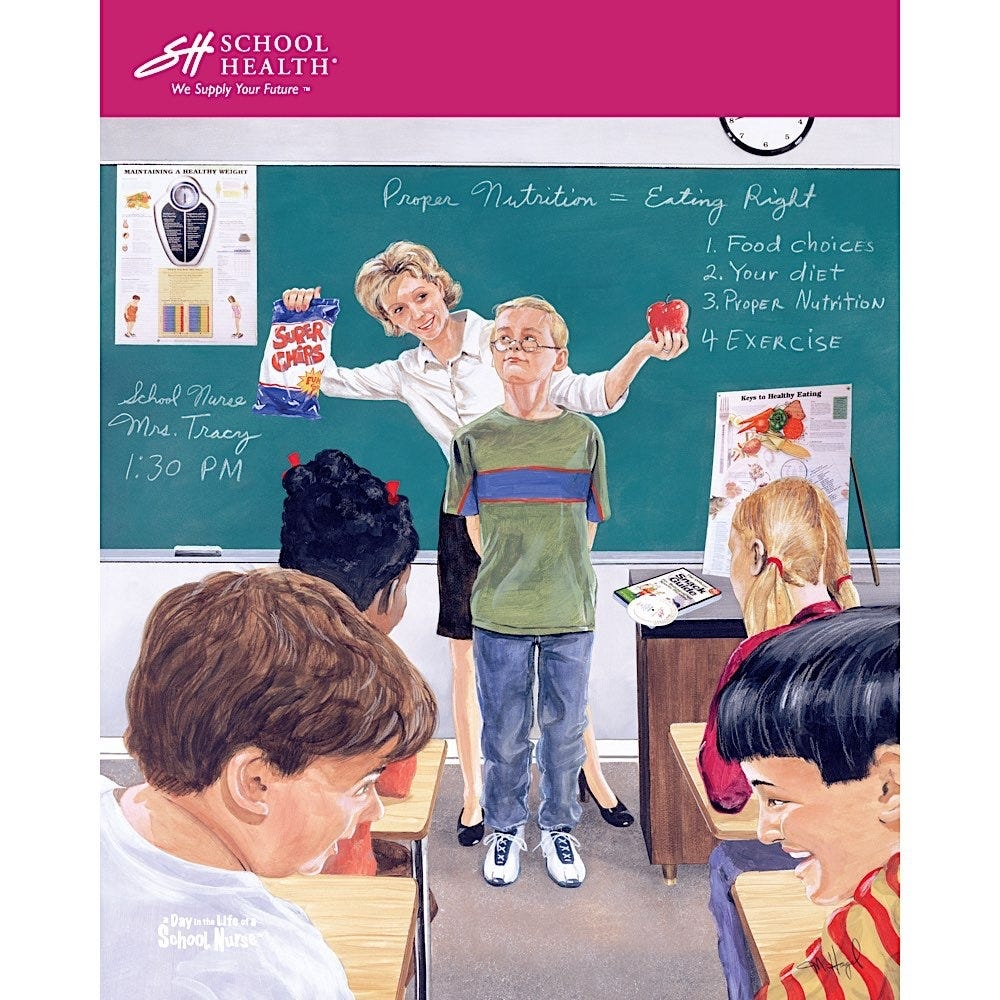 2004 School Health Catalog Cover Poster Series