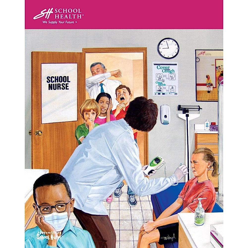 2010 School Health Catalog Cover Poster Series