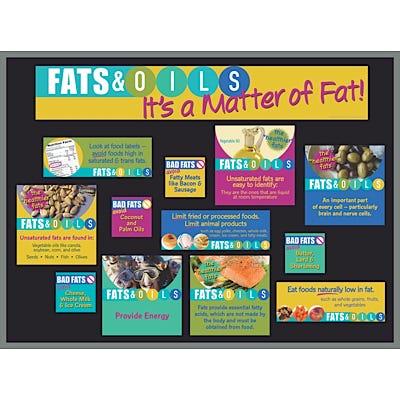 Fats & Oils Bulletin Board Kit