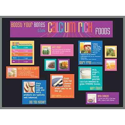 Calcium Bulletin Board Kit