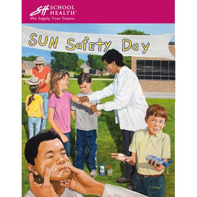 2011 School Health Catalog Cover Poster Series