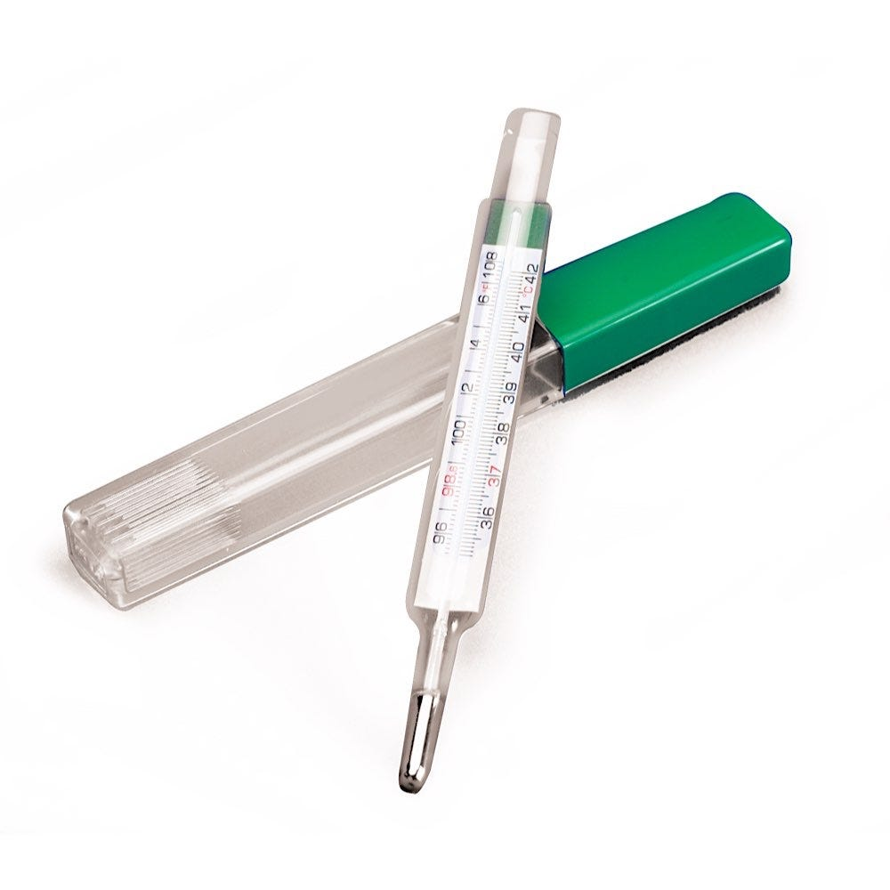 Mercury Free Thermometer and Sheaths