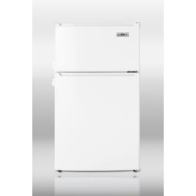 Summit Refrigerator/Freezer 2.9 cu.ft with Lock