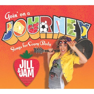 Goin' on a Journey: Songs for Every Body CD
