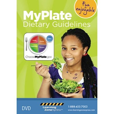USDA MyPlate Dietary Guidelines: Create a Great Plate DVD