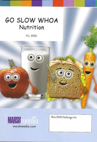 Go Slow Whoa — Nutrition DVD