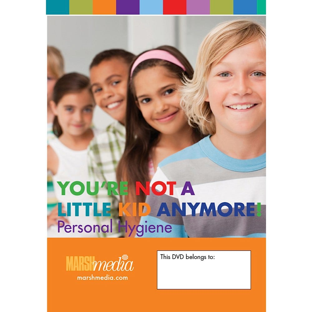 You're Not a Little Kid Anymore - Personal Hygiene - DVD