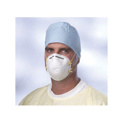 N95 Cone-Style Particulate Respirator Masks, Medium/Large 20/Box