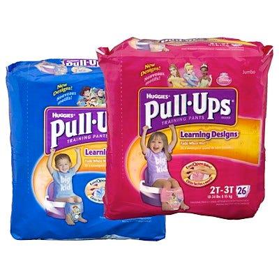 Huggies Pull-Ups Training Pants in Bags