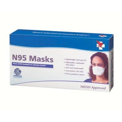 Flat N95 Mask 5/Box