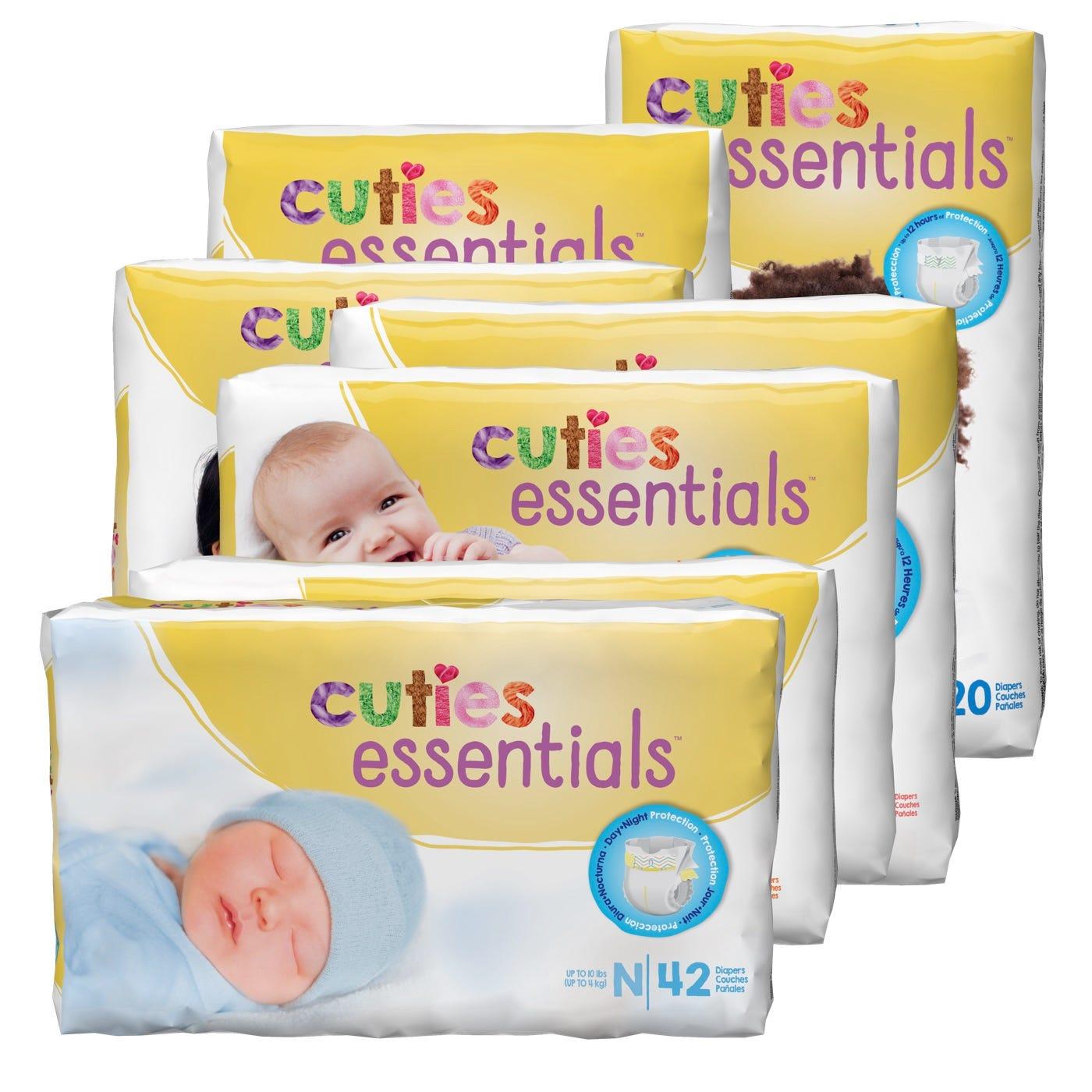 Cuties Baby Diapers in Bags