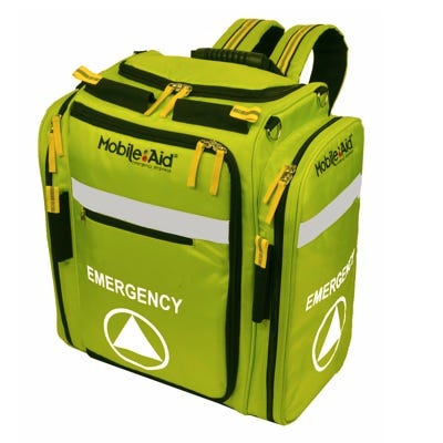 MobileAid Emergency Supplies and Equipment Backpack