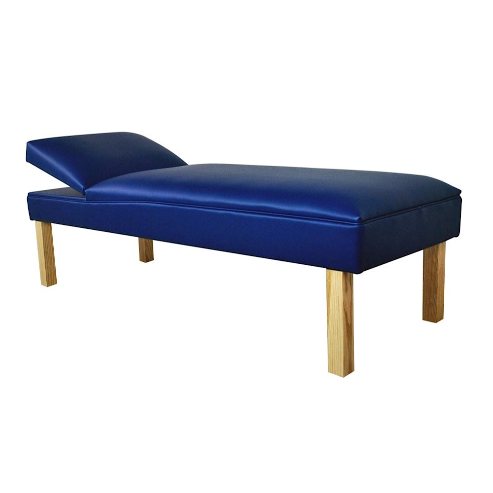 """Biltmore Recovery Couch with Wood Legs 72""""L x 27""""W x 20""""H"""