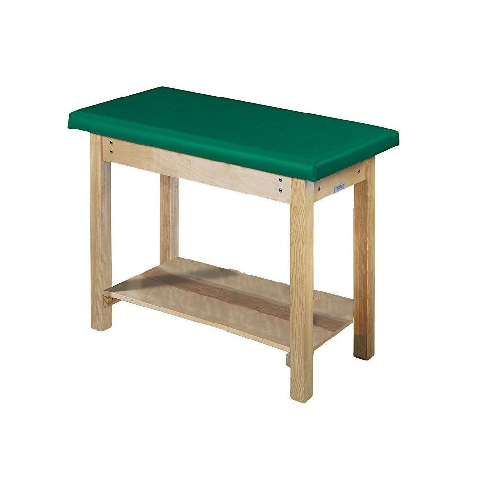 "Pediatric Table with Full-Length Shelf 48""L x 24""W x 36""H"