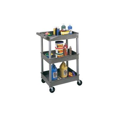 3-Tub Shelf Utility Cart