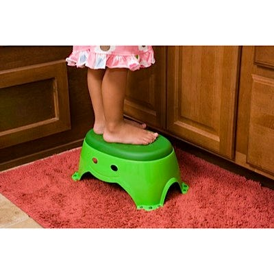 Step Up Non-Slip Froggie Step Stool