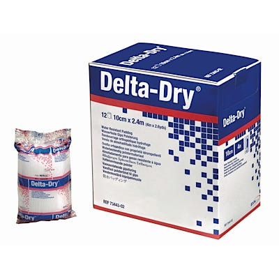 Delta-Dry Water Resistant Cast Padding
