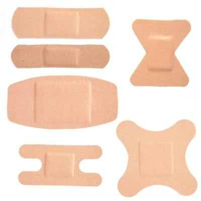 School Health Adhesive Bandages, Flexible Fabric