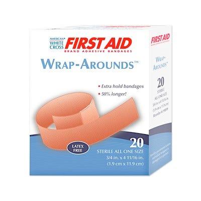 Wrap-Arounds Flexible Fabric Adhesive Bandages
