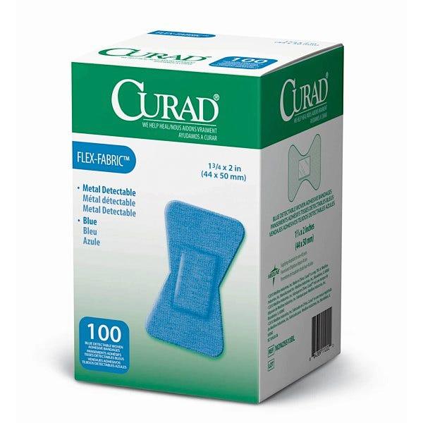 CURAD Food Service Blue Plastic Adhesive Bandages