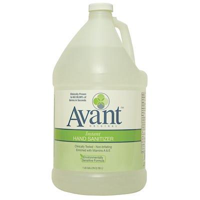 Avant Fragrance-Free Hand Sanitizers and Dispenser