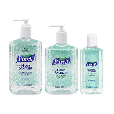 Purell Advanced Hand Sanitizer Gel Bottles
