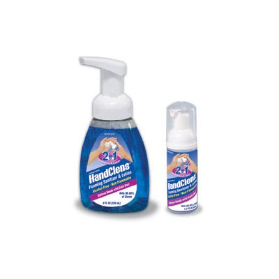 HandClens Hand Sanitizer and Wall Mount