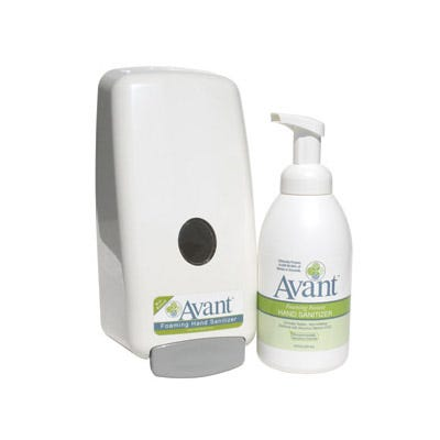 Avant Alcohol-Free Foaming Instant Hand Sanitizers