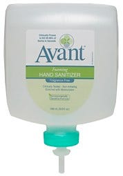 Avant Alcohol-Free Foaming Instant Hand Sanitizer