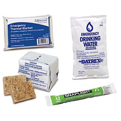 Emergency Kit Refill Supplies