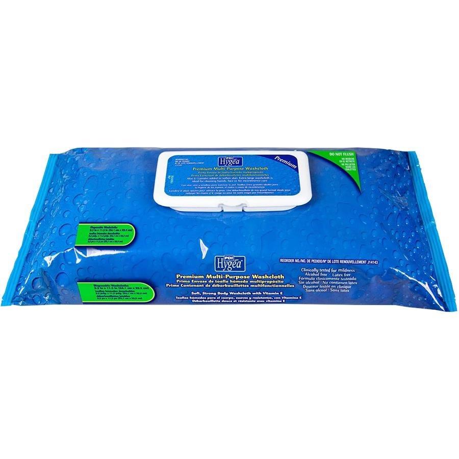 Hygea Premium Multi-Purpose Washcloths 60/Pkg
