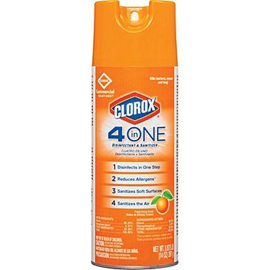 Clorox 4-in-1 Disinfectant & Sanitizer