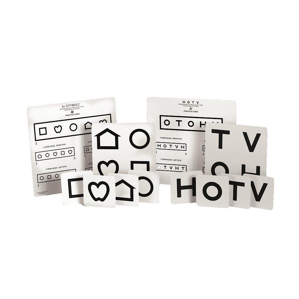 MassTest HOTV/LEA Symbols Wall Chart