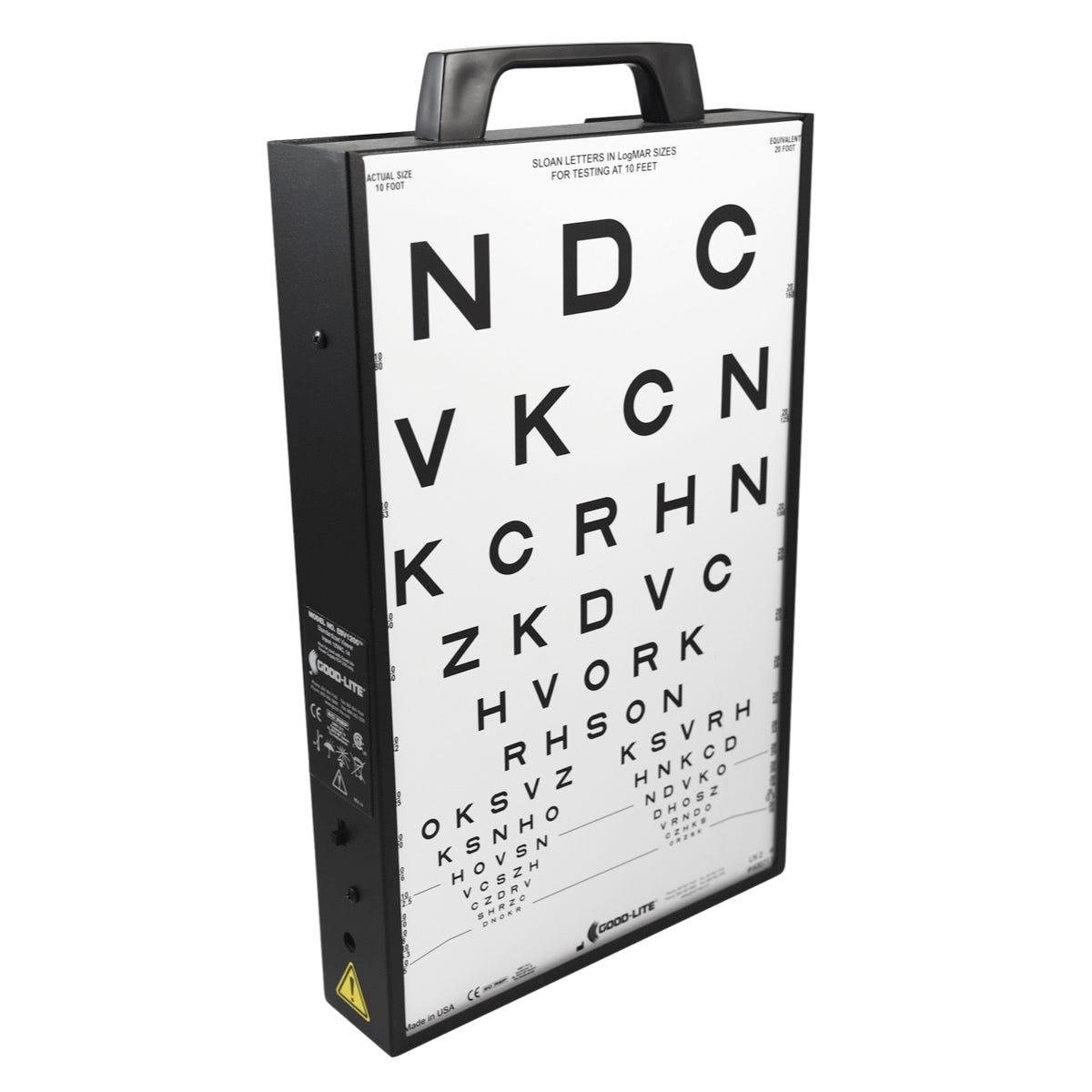 Good-Lite ESV1200 Quantum Vision Screener Illuminated Cabinet and Accessories