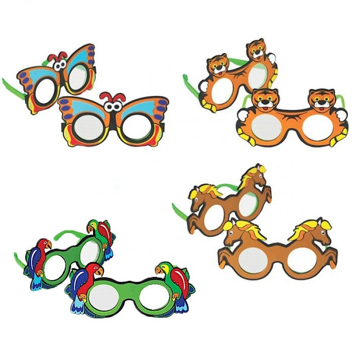 Frosted Occluder Glasses for Ages 3 to 10 Years